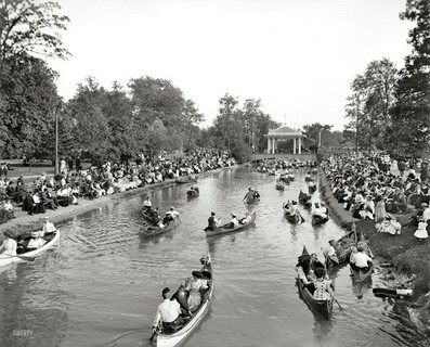 1907 – Detroit – Concert on Grand Canal, Belle Isle Park