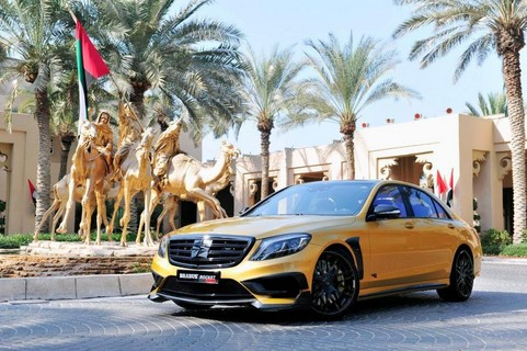 Brabus Mercedes Rocket 900 Desert Gold6