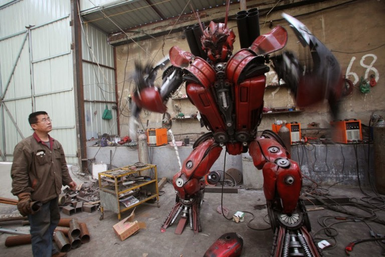 Transformers Chinois