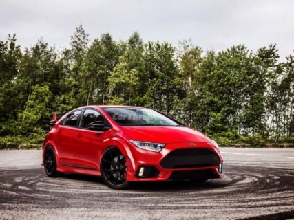 Honda Civic Type R - Ford Focus RS