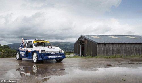 1985 MG Metro 6R4 Group B rally car : 113 500 £