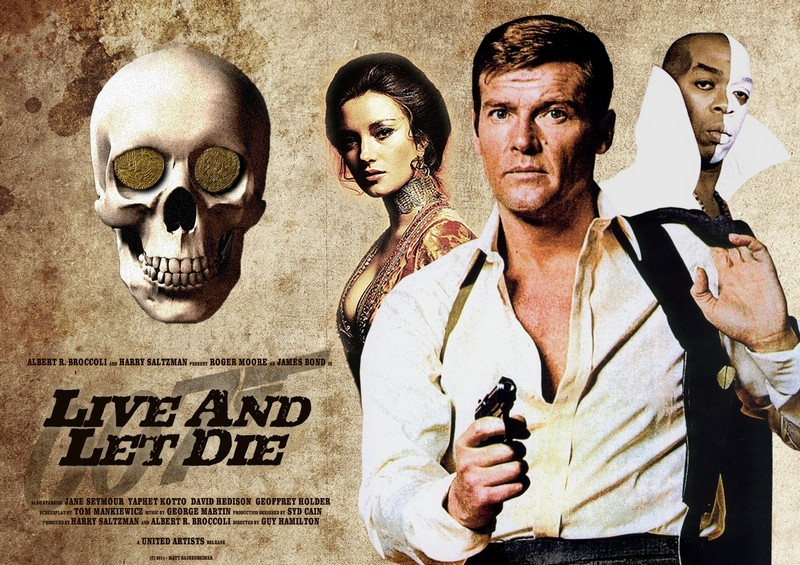 Jane Seymour & Roger Moore, Live and let die