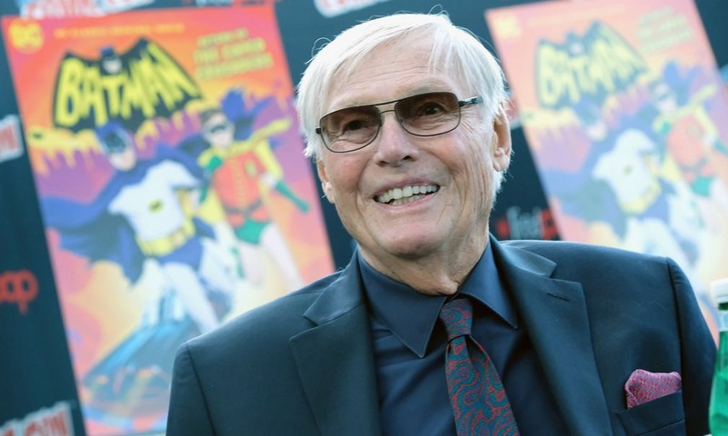 Adam West, 6 octobre 2016, lors d'un Comic Con à New York