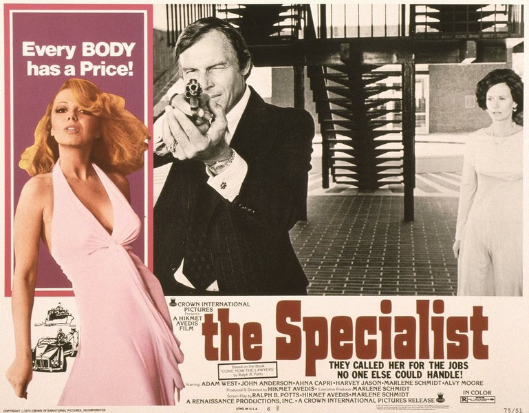 1975, autre thriller, The Specialist