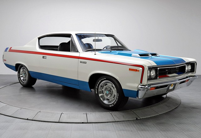 1970 AMC Rebel The Machine; top car design rating and specifications