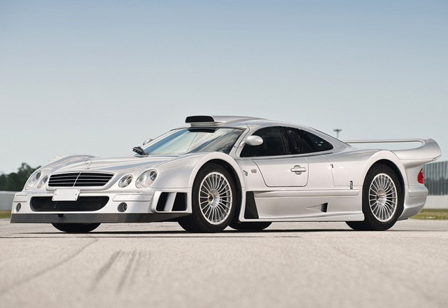 1998 Mercedes-Benz CLK GTR AMG Coupe; top car design rating and specifications