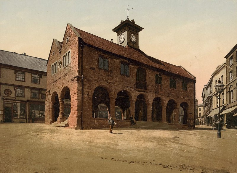 Market Hall, Ross on Wye, Herefordshire