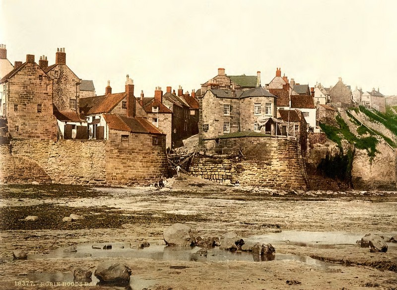 Robin Hood's bay, Whitby, Yorkshire