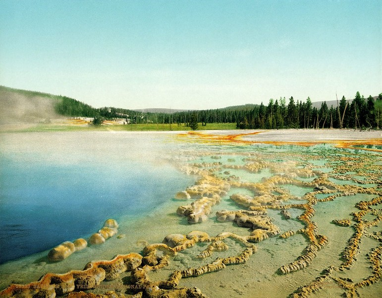 Sapphire Pool, Yellowstone National Park, Wyoming