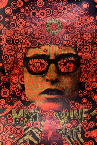 Martin Sharp, Mr Tambourine Man, Blowin' in the Mind, 1967