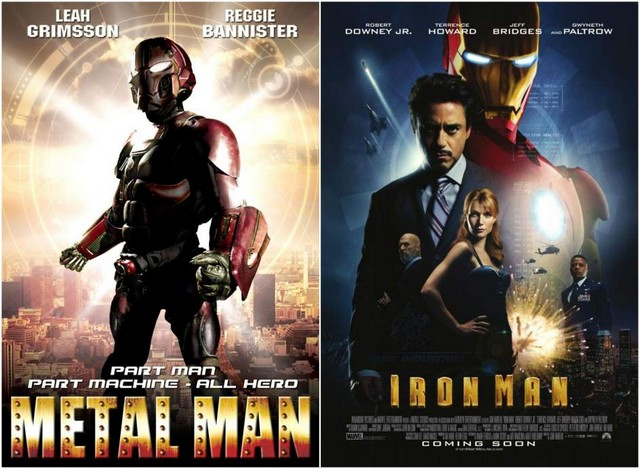 Metal Man & Iron Man