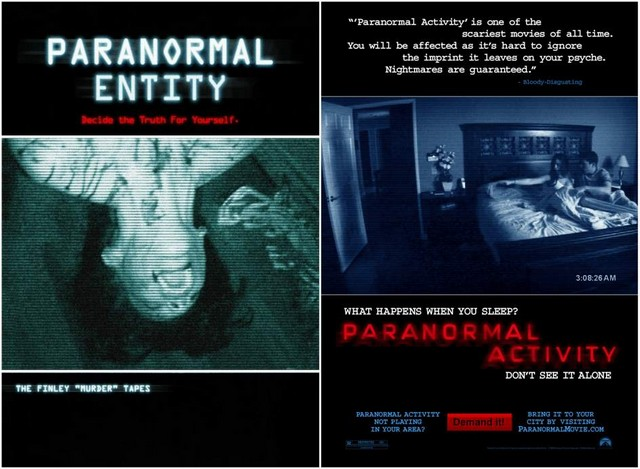 Paranormal entity & Paranormal activity
