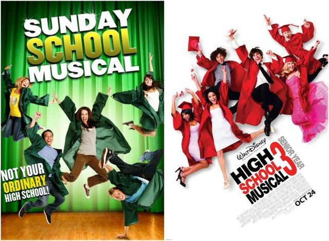 Sunday School Musical & High School Musical 3