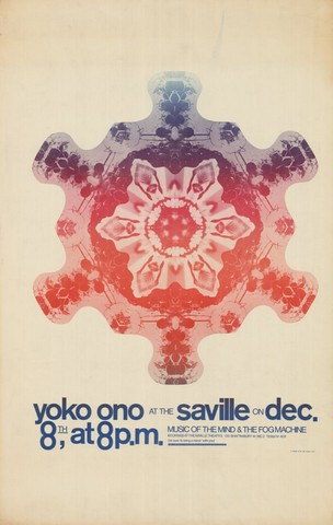 Tony Cox, Yoko Ono at the Saville, 1967