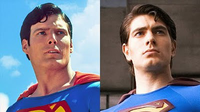 Christopher Reeve et Brandon Routh