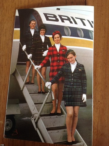 L'instant Vintage : les uniformes de British Airways
