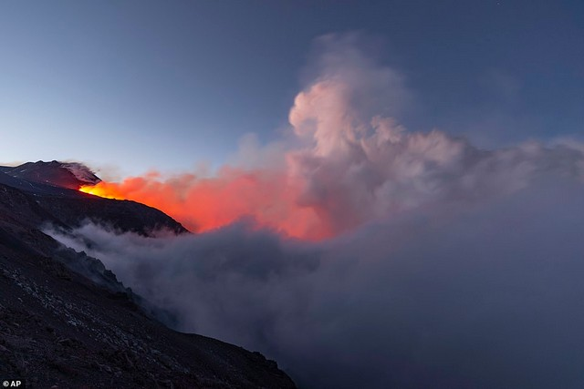 L'éruption de l'Etna