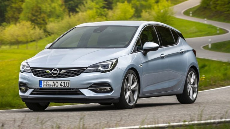 Opel Astra 2019, restylage