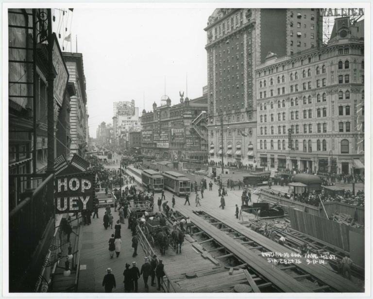 L'instant Vintage : la construction du métro de New York