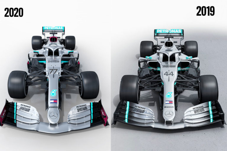 Formule 1 2020 : Mercedes AMG F1 W11 Performance EQ