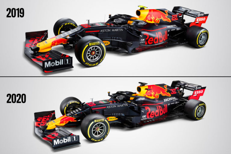 Formule 1 2020 : Red Bull Honda RB16