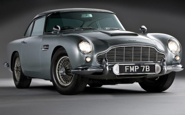 L'instant Vintage : les Aston Martin de James Bond