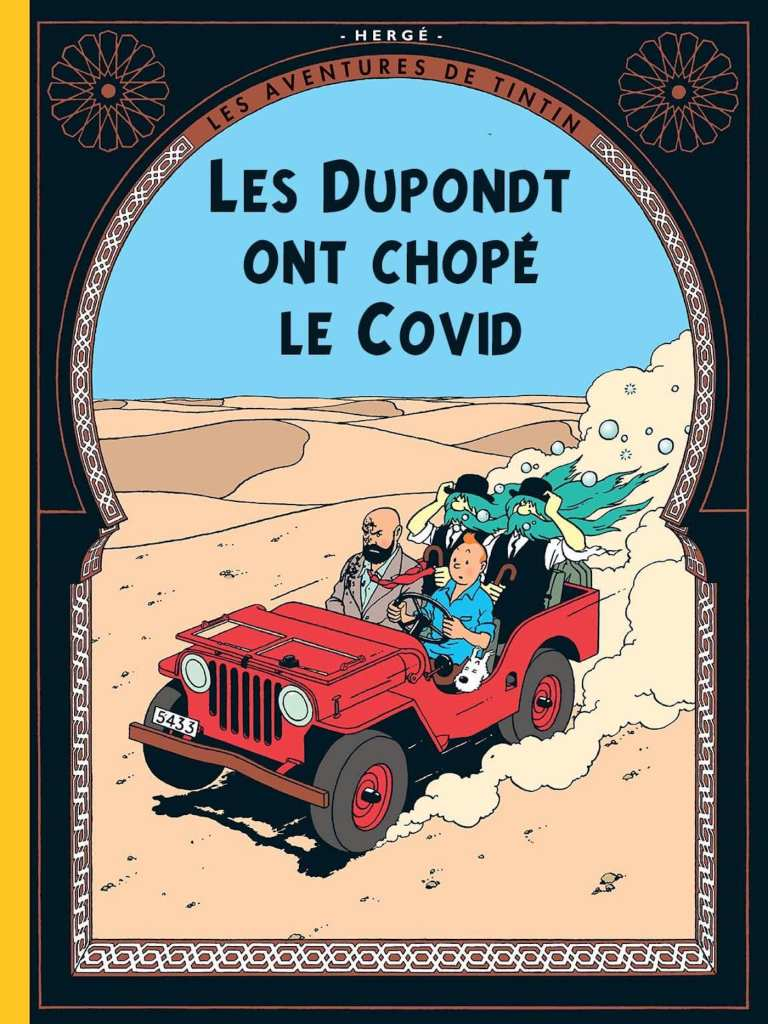 Tintin et le confinement